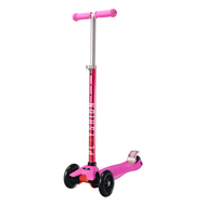 Самокат Макси PLAYSHION FS-MS002P (Розовый), фото 1