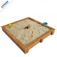 Детская песочница САМСОН ДЮНА лак сосна, фото 1