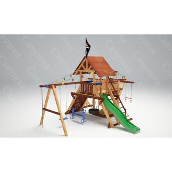 Детская игровая площадка САВУШКА LUX-6, фото 3
